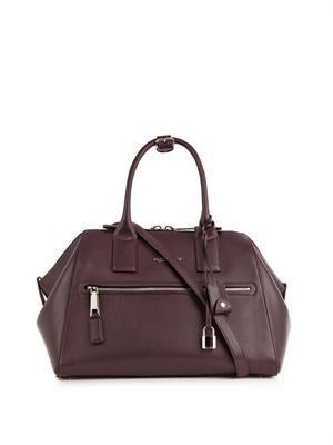 Incognito leather tote