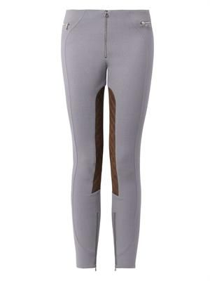 Stretch-wool jodhpur trousers