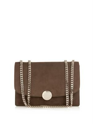 MARC JACOBS Trouble medium suede bag