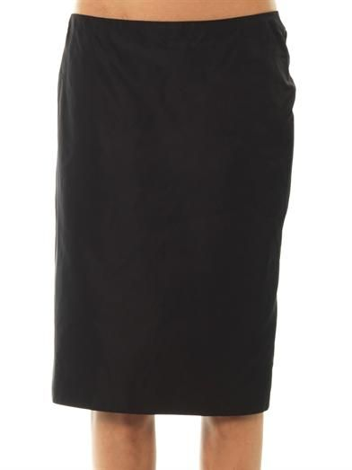 Marc Jacobs Radzimir silk pencil skirt
