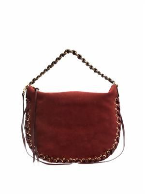 Nomad suede shoulder bag