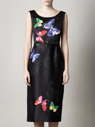 Marc Jacobs Butterfly-print dress