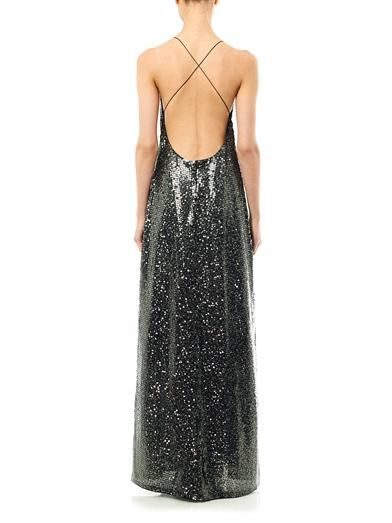 Marc Jacobs Sequin embellished cross back dress