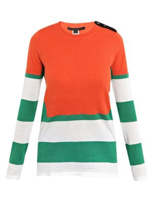 Cashmere-cotton sweater