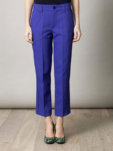 Marc Jacobs Techno twill trousers