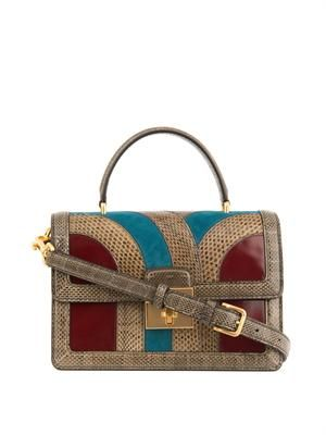 Rosalina snakeskin bag
