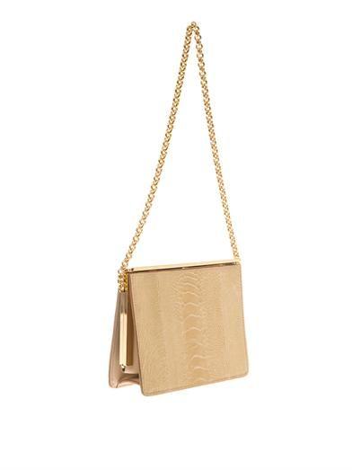 Dolce & Gabbana Maddalena ostrich clutch