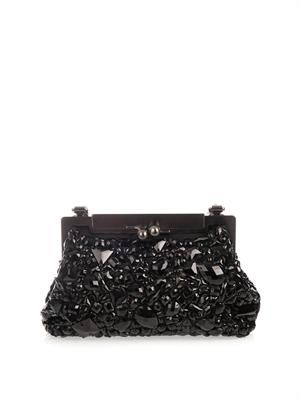 Sara crystal-embellished bag