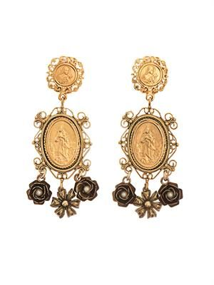 Heritage Madonna earrings