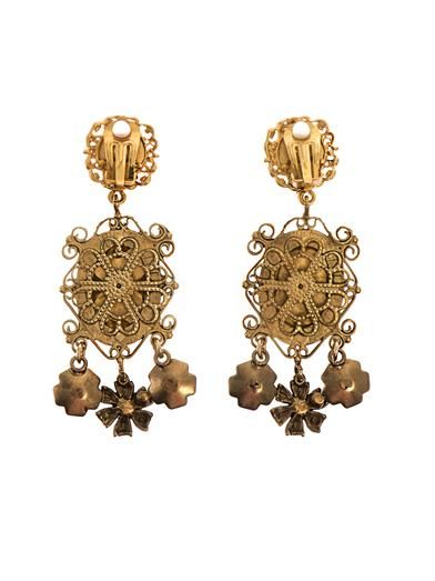 Dolce & Gabbana Heritage Madonna earrings