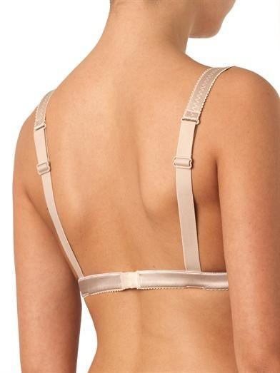 Dolce & Gabbana Lace and satin soft-cup bra