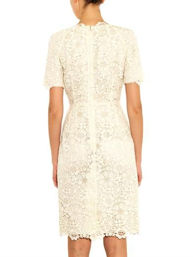 Dolce & Gabbana Macramé lace dress