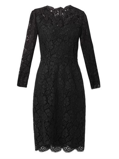 Dolce & Gabbana Long-sleeved lace dress