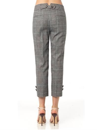Dolce & Gabbana Prince of Wales-check trousers