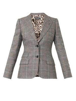 Prince of Wales-check jacket