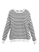Jonathan stripe cashmere sweater