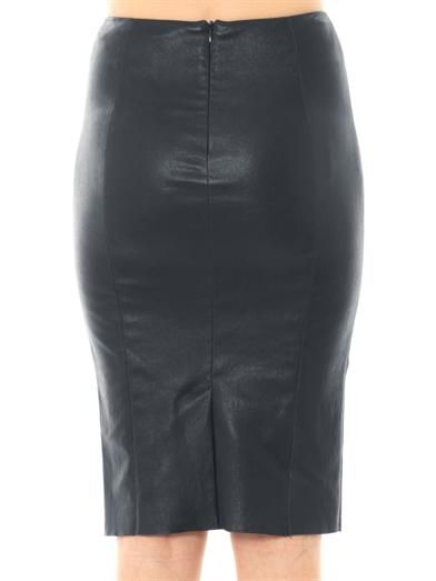 Drome Nappa leather skirt