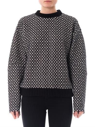 Derek Lam Bonded lace sweatshirt
