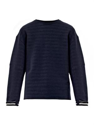 Cotton-jersey sweater
