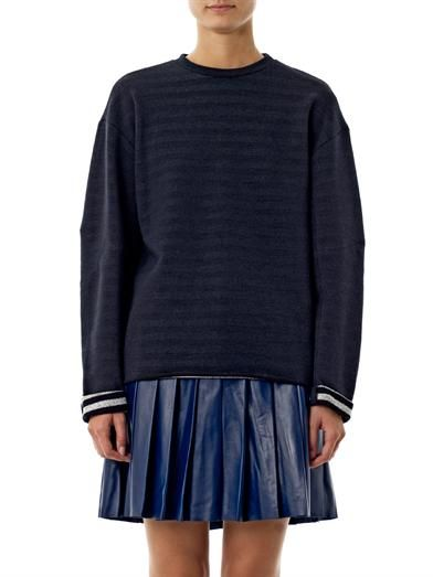 Derek Lam Cotton-jersey sweater