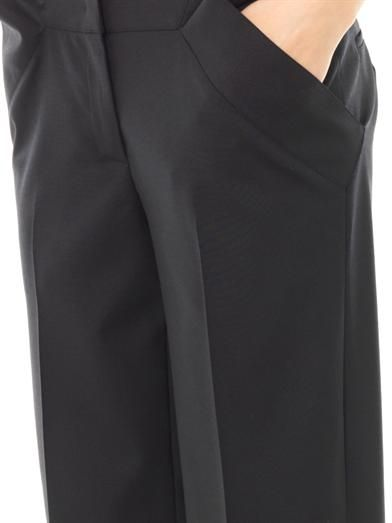 Derek Lam Tailored wool-crepe trousers