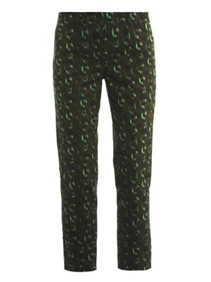 Fatigue-print trousers