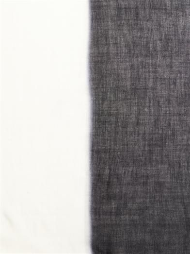 Dianora Salviati Ming two-tone cashmere scarf