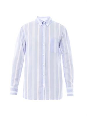 Margaux striped cotton shirt