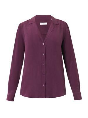 Adalyn silk shirt