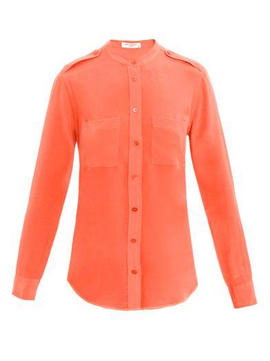 Equipment Carmen silk shirt