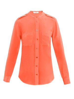 Carmen silk shirt