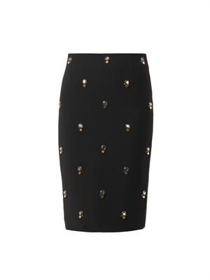 Mia embellished pencil skirt