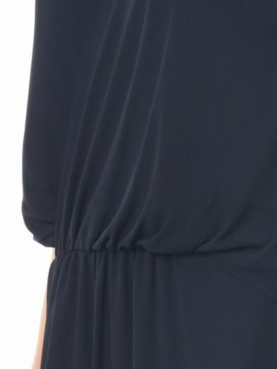 Elizabeth and James Tiana draped crepe dress