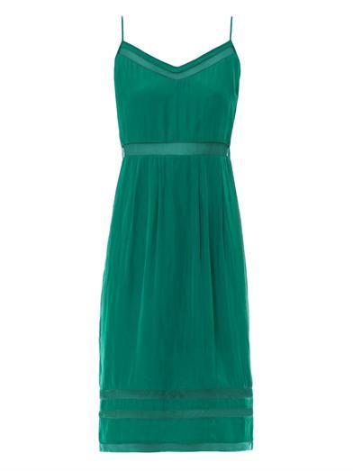 Elizabeth and James Sierra sheer mesh-insert dress