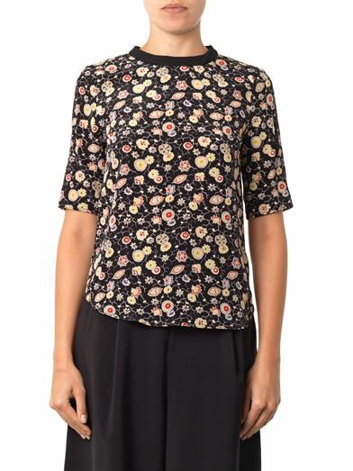 Elizabeth and James Piper silk blouse