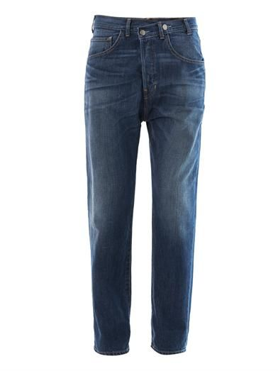 Elizabeth and James Azumi low-rise boyfriend jeans