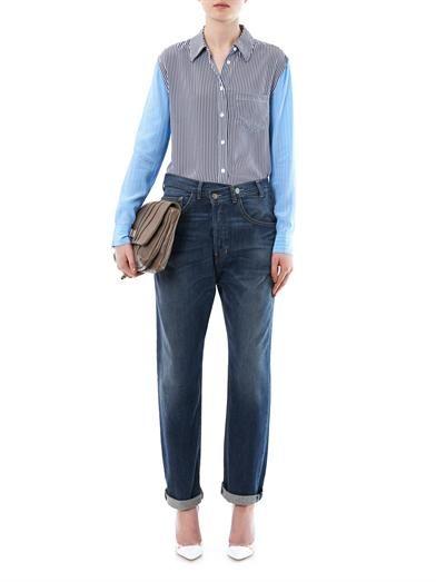 Elizabeth and James Azumi low-rise boyfriend jeans