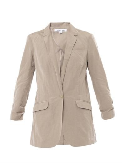 Elizabeth and James Jamie cotton-blend blazer