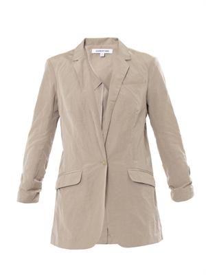 Jamie cotton-blend blazer