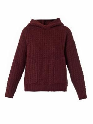 Thermal hooded sweater