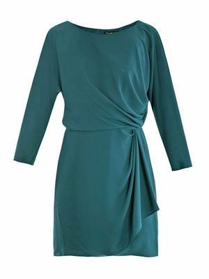 Jazlynn silk dress
