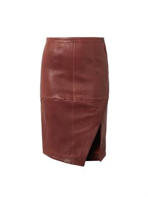 Mercy leather skirt