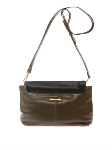 Elizabeth and James Cynnie medium calf-hair cross-body bag