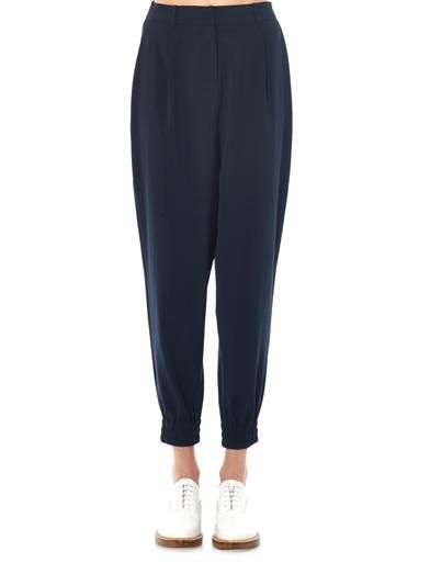 Elizabeth and James Greyson crepe trousers