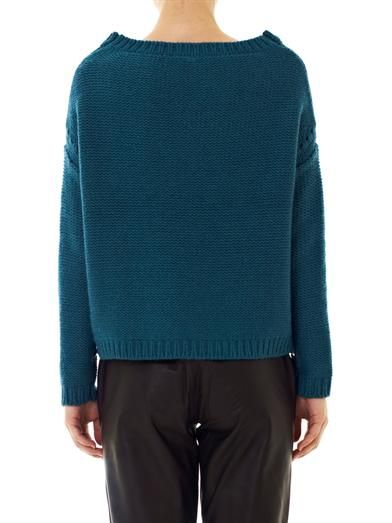 Elizabeth and James Side zip knit sweater