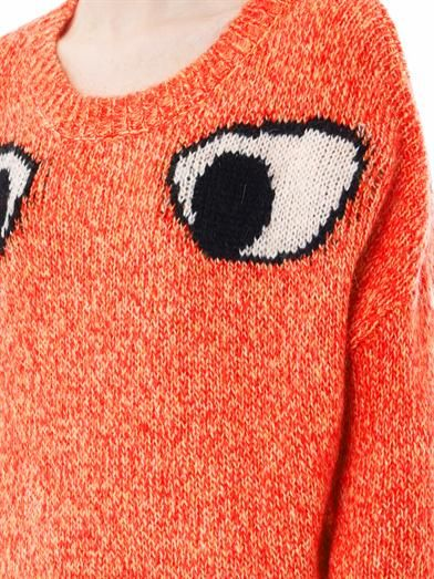 Elizabeth and James Googley eyes sweater
