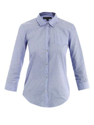 Rumpled Cohem stripe shirt
