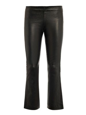 Allen leather trousers
