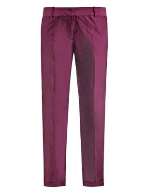 Anselm iridescent trousers