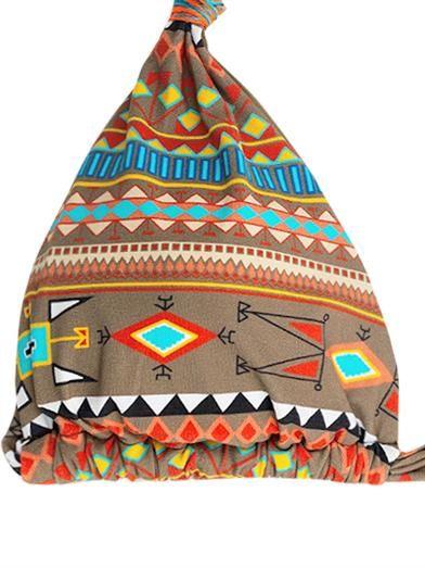 Emamò Aymara Ikat-print bikini